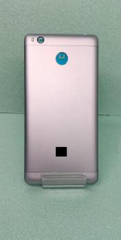 Задняя крышка (корпус) Xiaomi Redmi 3S, серый