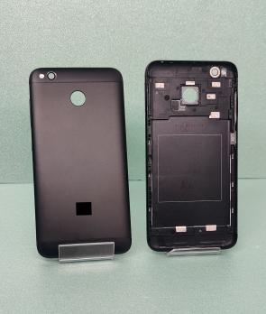 Задняя крышка (корпус) Xiaomi Redmi 4X, черный
