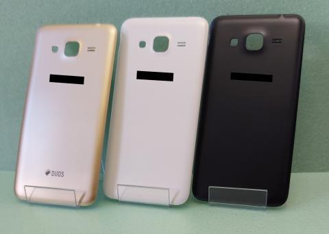 Задняя крышка Samsung Galaxy J3 2016, SM J320, черная