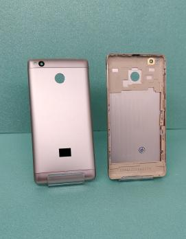Задняя крышка (корпус) Xiaomi Redmi 3S, золото