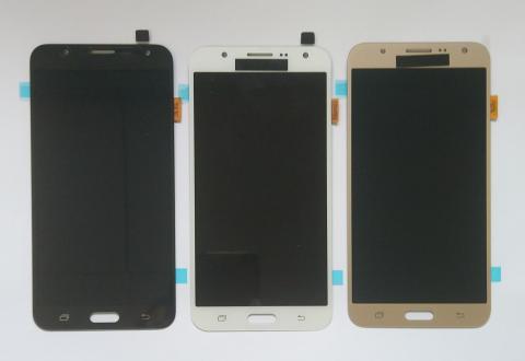 Дисплей с сенсором Samsung Galaxy J7, SM J700f, черный, Oled
