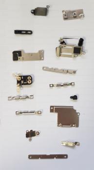 Внутренние корпусные части для iPhone 6S (набор металлических пластин)