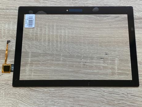 Сенсорное стекло (тачскрин) Lenovo Tab 2, A10-70, TB3-X70L, черное