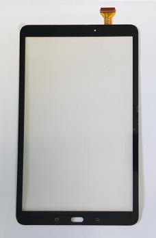 Сенсорное стекло (тачскрин) Samsung Galaxy Tab A, 10.1, SM T585, черный