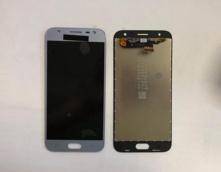 Дисплей с сенсором Samsung Galaxy J3, 2017 SM J330, голубой