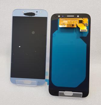 Дисплей с сенсором Samsung Galaxy J7 2017, SM J730, серо синий, Oled