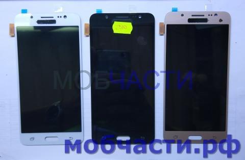 Дисплей с сенсором Samsung Galaxy J5 2016, SM J510f, белый, TFT