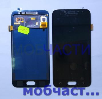 Дисплей с сенсором Samsung Galaxy J2 2018, SM J250F/H/DS, черный, TFT