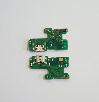 Нижняя плата с разъемом зарядки и микрофоном Huawei Honor 8 Lite, PRA-TL-10