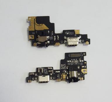 Нижняя плата с разъемом зарядки и микрофоном Xiaomi Mi 5x, Mi A1, mdg2, mde2, mdt2