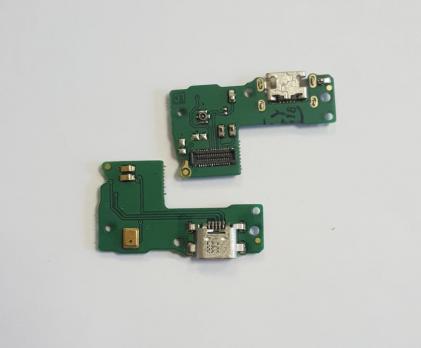 Нижняя плата с разъемом зарядки и микрофоном Huawei Honor 7, PLK-L01