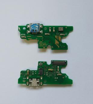 Нижняя плата с разъемом зарядки и микрофоном Huawei Honor 6x, BLN-L21, BLN-AL10