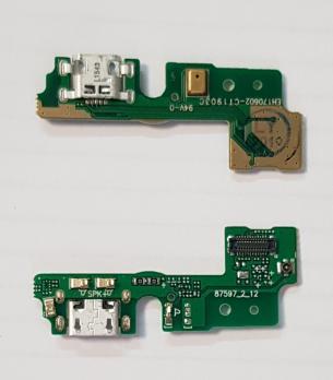 Нижняя плата с разъемом зарядки и микрофоном Huawei Honor 6A, DLI-TL20
