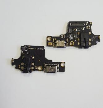 Нижняя плата с разъемом зарядки и микрофоном Huawei Honor 10, COL-L29