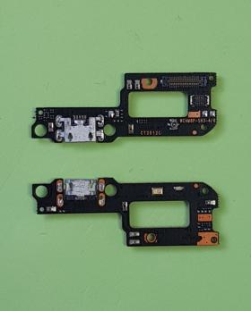 Нижняя плата с разъемом зарядки и микрофоном Xiaomi Mi A2 Lite, m1805d1sg, Redmi 6 Pro, m1805d1se