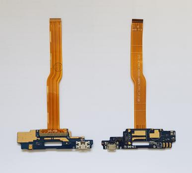 Нижняя плата с разъемом зарядки и микрофоном ZTE Blade A610