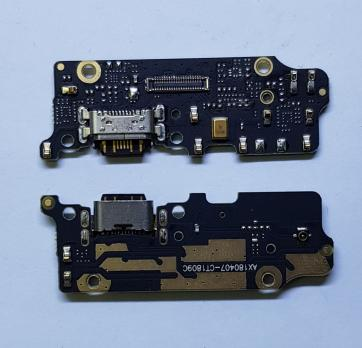 Нижняя плата с разъемом зарядки и микрофоном Xiaomi Mi A2