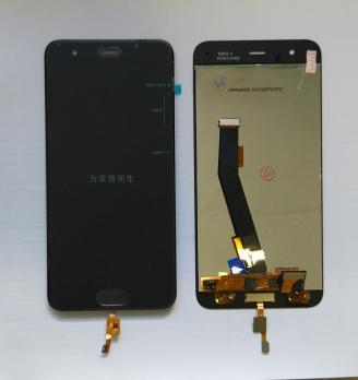 Дисплей с сенсором Xiaomi Mi 6, mce16, черный, со сканером отпечатка