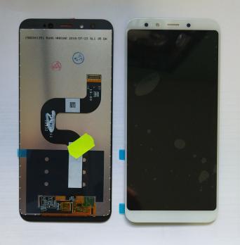 Дисплей с сенсором Xiaomi Mi A2, Mi 6X, белый