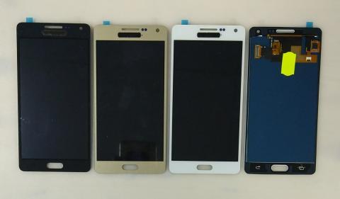 Дисплей с сенсором Samsung Galaxy A5 SM-A500F, белый, TFT без регулировки яркости