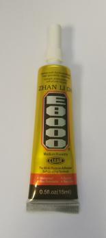 Клей-герметик E8000 (15 ml) акриловый прозрачный