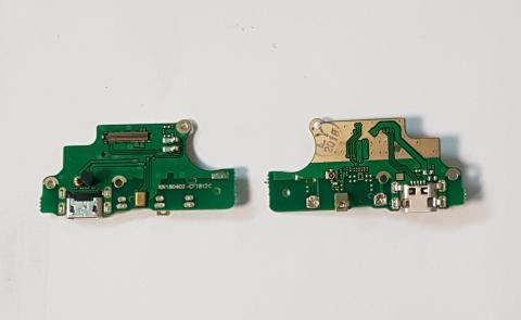 Нижняя плата с разъемом зарядки и микрофоном Nokia 5, TA 1053