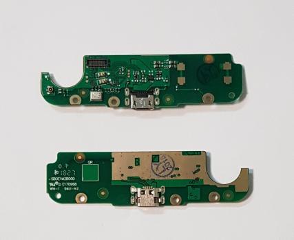Нижняя плата с разъемом зарядки и микрофоном Nokia 2, TA 1029