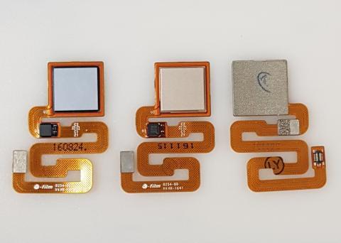 Шлейф со сканером отпечатка пальца Xiaomi Redmi 4X, золото