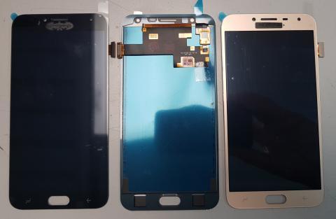 Дисплей с сенсором Samsung Galaxy J4 2018, SM J400, черный, TFT