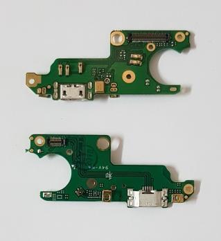 Нижняя плата с разъемом зарядки и микрофоном Nokia 6, TA 1000, TA 1003, TA 1021, TA 1025
