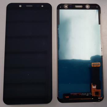 Дисплей с сенсором Samsung Galaxy J6 2018, SM J600, A6 2018, SM A600, черный, TFT