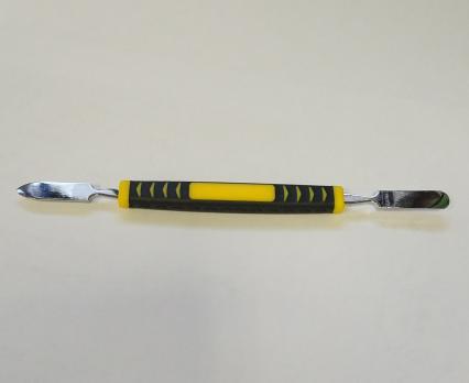 Лопатка монтажная с пластиковой (прорезиненной) ручкой, LY-305