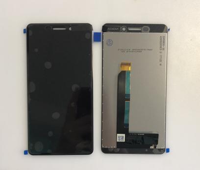 Дисплей с сенсором Nokia 6.1, 2018, TA-1043, черный
