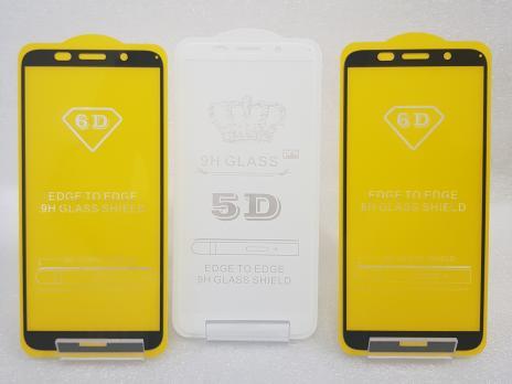Защитное стекло 5d 9h для Huawei Y5 Prime 2018, Honor 7A, DRA-L21, DRA-L22, DRA-X22, DUA-L22, черное