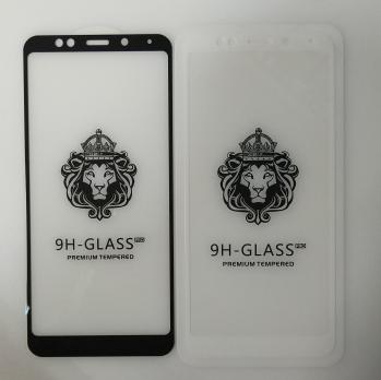 Защитное стекло 5d, для Xiaomi Redmi 5 Plus, meg7, mee7, белое