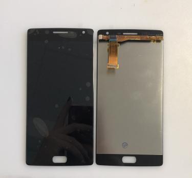 Дисплей с сенсором OnePlus Two, черный