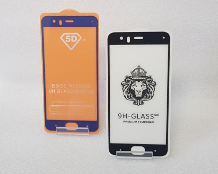 Защитное стекло 5d, для Xiaomi Mi 6, mce16, черное