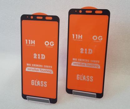 Защитное стекло 5d 9h для Samsung Galaxy A8 2018, SM A530f, черное