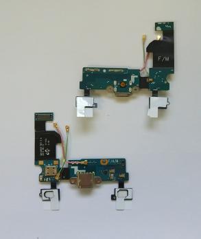 Шлейф Samsung Galaxy S5 mini, SM G800F/H/DC с разъемом зарядки