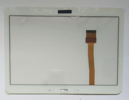 Сенсорное стекло (тачскрин) Samsung Galaxy Tab 4, 10,1, SM T530, T531, T535, белый