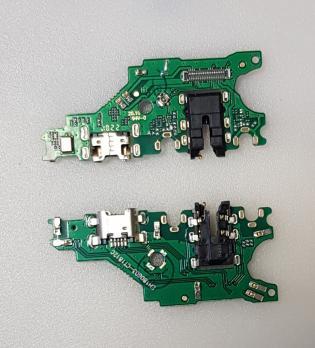 Нижняя плата с разъемом зарядки и микрофоном Huawei Nova 3i