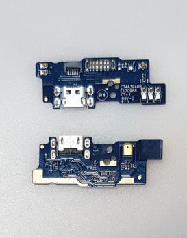 Нижняя плата с разъемом зарядки и микрофоном Meizu M5c, m710h