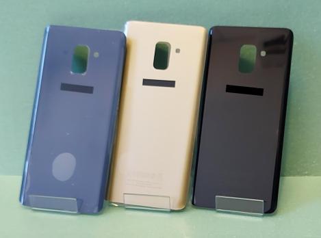 Задняя крышка Samsung Galaxy A8 Plus 2018, SM A730, золото