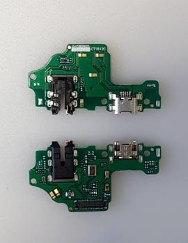 Нижняя плата с разъемом зарядки и микрофоном Huawei Honor 8X, JSN-L21