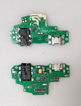 Нижняя плата с разъемом зарядки и микрофоном Huawei P-Smart, FIG-LX1