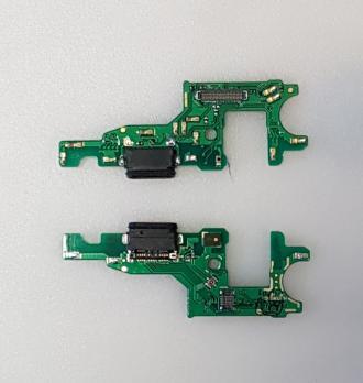 Нижняя плата с разъемом зарядки и микрофоном Huawei Honor 8 Pro, Honor V9, DUK-L09