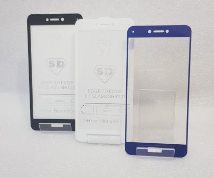 Защитное стекло 5d 9h для Huawei Honor 8 Lite, PRA-TL-10, P8 Lite 2017, PRA-LX1, белое