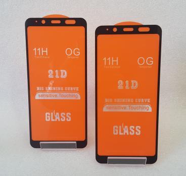 Защитное стекло 5d 9h для Samsung Galaxy J6 2018, SM J600, A6 2018, SM A600, черное