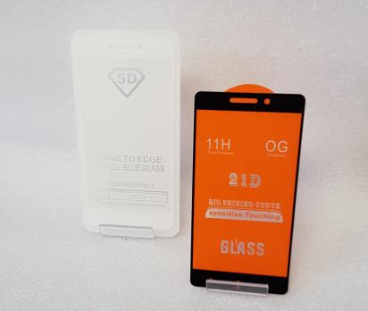 Защитное стекло 5d, для Xiaomi Redmi 4A, черное