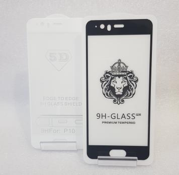 Защитное стекло 5d 9h для Huawei P10, VTR-L29, VTR-L09, черное